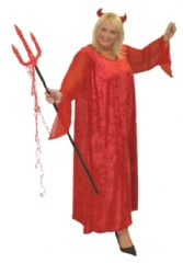 Red Devil Costume Plus Size